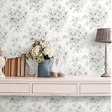 Papel pintado de Vintage Romantica Flores Dai Toni neutri de TNT lavable Chatillon cha060