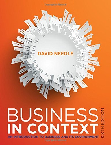 Business in Context by David Needle (2015-05-16)