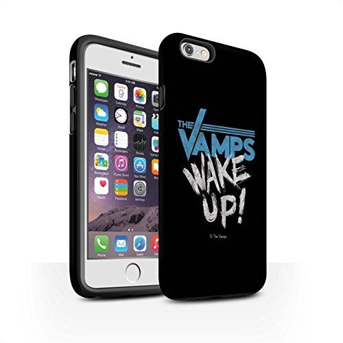 Officiel The Vamps Coque / Matte Robuste Antichoc Etui pour Apple iPhone 6 / Pack 6pcs Design / The Vamps Graffiti Logo Groupe Collection Réveillez-Vous!