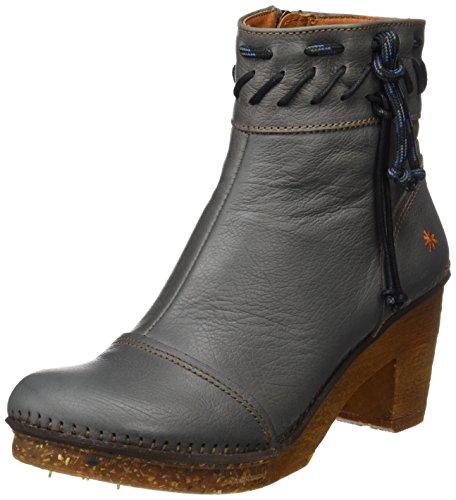 Art Damen Amsterdam Kurzschaft Stiefel, Grau (Memphis Humo), 38 EU (Stiefel Art Schuhe)