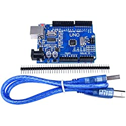 3.5inch TFT-LCD Pantalla Táctil + Cascara para Raspberry pi 3 2 B B+A A+, Quimat Monitor con Interfaz HDMI para Reproducción de Películas, Juegos Arcade, Entrada de Audio (UNO R3)