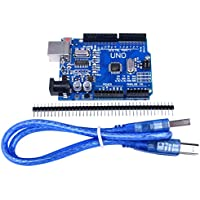Quimat UNO R3 ATmega328P CH340 + Cable USB para Arduino