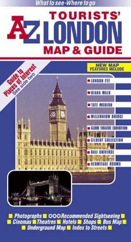 A-Z London Tourists Map and Guide (Visitors Map)