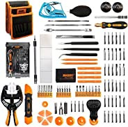 Jakemy Screwdriver Set Precision Repair Tool Kit with 36 Magnetic Driver Bits Screwdriver Kit