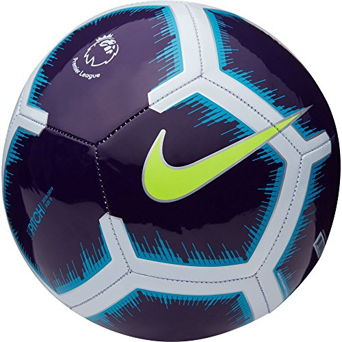 Nike Pitch Premier League 18/19 Football Purple/Volt Size 5