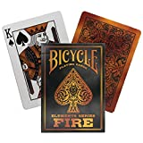 Bicycle Fire Element Series Standard Poker Playing Cards 1 Deck