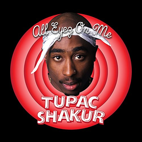 Tupac Shakur Looney Tunes Men's Vest Black