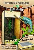 terrabasic repcage 60X 60X 120, Gaze Deckel