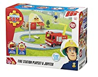 Fireman Sam Station Playset (14 Pieces)