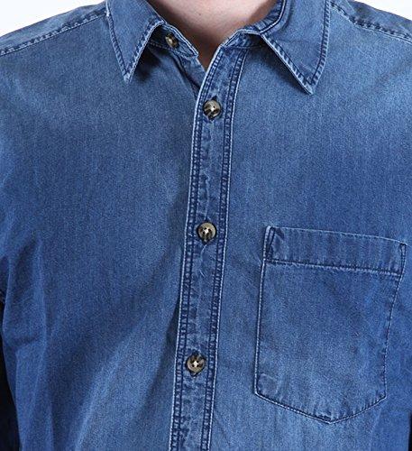 Jack & Jones Originals Jeanshemd in 2 verschiedenen Farben Medium Blue