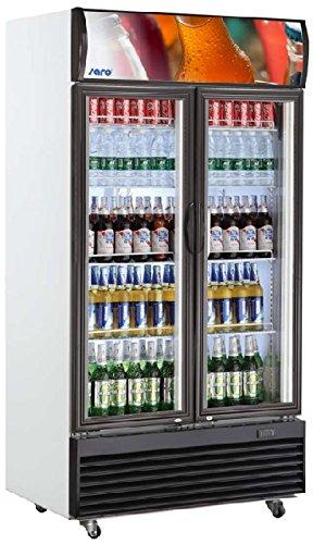 Saro 437-1015 GTK 800 Kühlschrank mit Umluftventilator, 800 L, Weiß