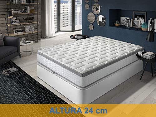 Relaxing-Confort Colchon viscoelastico, Espuma, 160x200