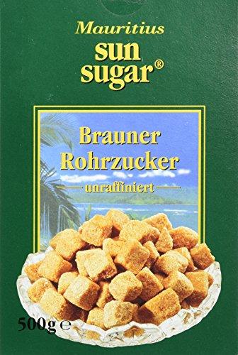 Töpfer Brauner Würfelrohrzucker, 500 g