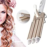 Hair curler 3 Barils Fer à Onduler pour Cheveux Longs Cheveux Courts Pince À Friser...