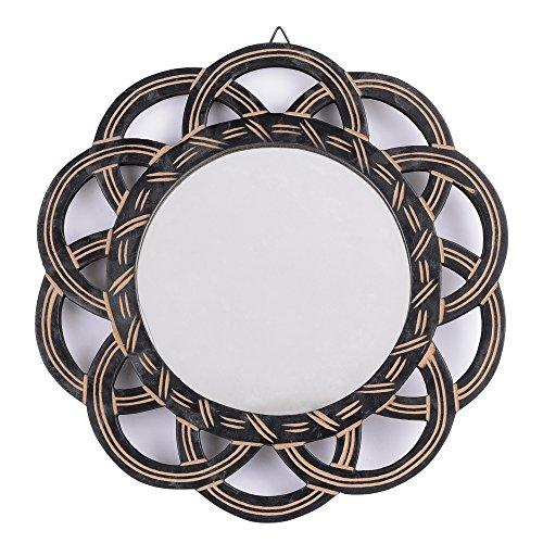 rusticity madera vanity espejo de pared   hecho a mano   (11.5in X 11,