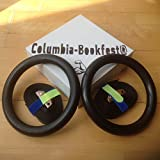 Olympus Gymnastic Rings For Bodyweight Excercising, Suspension Training - Taking your body to a new level of strength & endurance. Part of the Columbia-Bookfest® PowerCords products.