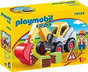 Playmobil 1.2.3 70125 Set de Juguetes - Sets de Juguetes (Acción / Aventura, 1,5 año(s), Niño/niña, Interior, Multicolor, Gente)