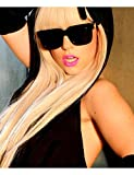 WIGSTYLE Perruques Fashion lady gaga perruque longue Straigt mode blonds femmes perruques