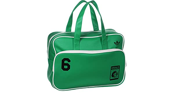 1a770c0893 adidas - Bags - Beckenbauer Airliner Bag - Green - 1 Size  Amazon.co.uk   Shoes   Bags