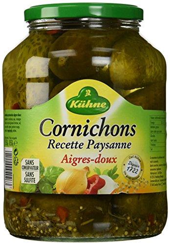 kuhne-cornichons-recette-paysanne-aigres-doux-le-bocal-850-g-lot-de-3