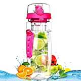 Best Bouteilles BPA eau libre - Fruit Infuser Water Bottle - Bouteille de sport Review