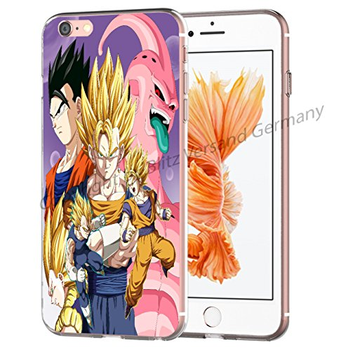 Blitz® DRAGONBALL motifs housse de protection transparent TPE SAMSUNG Galaxy M10 iPhone X M7