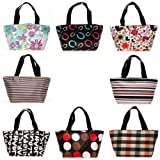 Einkaufstasche / Handtasche, mit Reißverschluss, für Picknick / Shopping / Reisen, 1 Stück