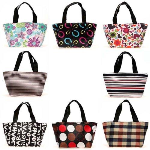 Einkaufstasche / Handtasche, mit Reißverschluss, für Picknick / Shopping / Reisen, 1 Stück (Co-einkaufstasche)