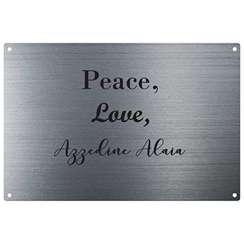 peace-love-azzedine-alaia-vintage-decorative-wall-plaque-ready-to-hang