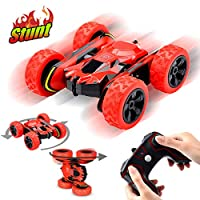 Joy-Jam Presents for 5-12 Year Old Boys Girls Remote Control Car for Kids RC Stunt Toy Cars 1:28 RC Monster Truck Off Road 2.4Ghz RC Crawler Gifts for Kids Christmas Birthday Gifts