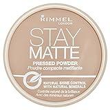 Rimmel Stay Matte, Cipria compatta - Silky Beige immagine