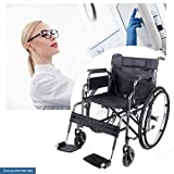Panana All AID Siver Footrest Self Propelled Folding Lightweight Transit Comfort Wheelchair