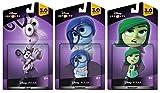 Disney Infinity 3.0 Alles steht kopf Spielzeug Bundle: Ekel + Angst + Kummer (PS4/Xbox One/PS3/Xbox 360/Wii U)