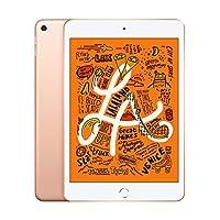 "Apple iPad Mini 7.9"" (2019 - 5th Gen), Wi-Fi, 64GB, Gold [With Facetime]"