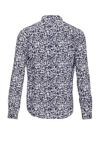 Drykorn Herren Hemd RUBEN, Farbe: Dunkelblau Dunkelblau