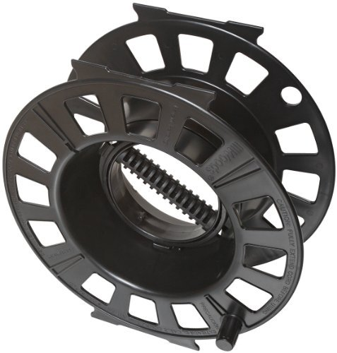 Woods 82870 Snap-Together Cord Reel, Black, Holds up to 150-Feet 16/3 AWG by Woods Cord-snap
