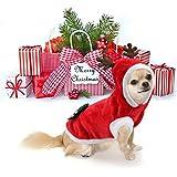 Weihnachtshunde-Kleidung Santa Kostüm für Chihuahua Pet Cat Kleidung Jacket Coat Small Dogs Hoodies