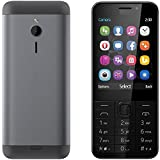 #7: Goodone G230 2.8 Inch TFT Display Dual SIM Feature Rich Keypad Mobile Phone,(Grey)