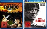 Blu-Ray Rambo 1-4 alle Teile BD Set, Bundle, FSK18 in Deutsch -