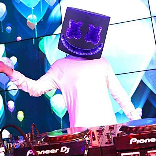Deadmau5 Kostüm Halloween - Coococ DJ LED Maske, Gruselige Horror-Maske