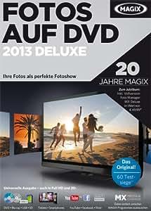 MAGIX Fotos auf DVD 2013 Deluxe inkl. Foto Manager MX Deluxe (Jubiläumsaktion) [Download]