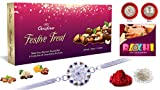 #3: Rakhi Combo|Lovely Rakhi|Golden Pearl| Multicolour with Diamond| for Brothers | Rakhi Gifts for Brother | rakhis for rakshabandhan | Rakhi for Brother and bhabhi,Rakhi for Brother with Chocolates