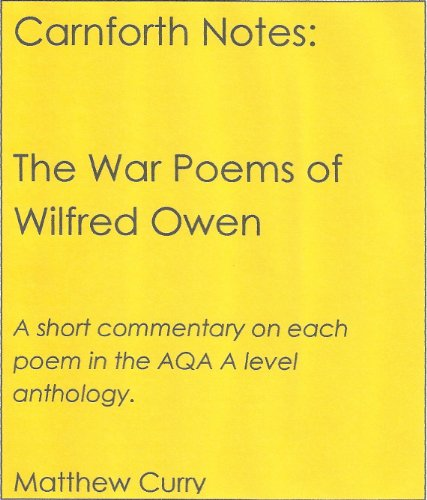 wasteful realities of war wilfred owen