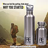 Êtes-vous êtes soucieux de votre santé et l'environnement? 1) Cette bouteille d'eau vous aidera à boire plus d'eau, et d'utiliser moins de bouteilles en plastique, ce qui contribue à la protection de l'environnement. 2) Performance élevée et durable...