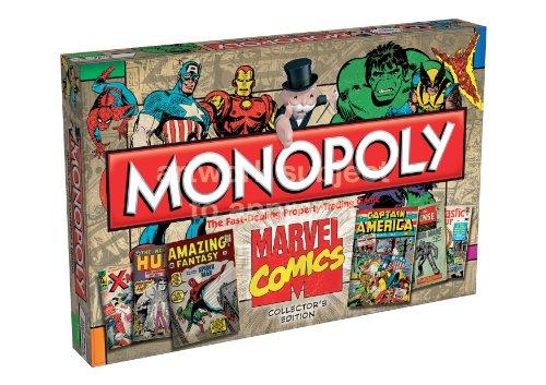 Monopoly - Edición Marvel Comics, juego de mesa (Winning Moves)