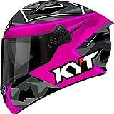 KYT Motorradhelme Integral nf-r, Espargaro 'Replica 2017fuchsiafarben, Größe L 59–60cm
