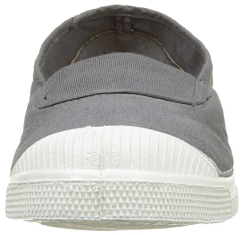 Bensimon Tennis Elastique, Baskets Basses Femme Gris (Gris)