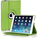 San Pareil™ Apple IPad Pro 1673/1674 360-Degree Rotating Hard Folio Case (Green)