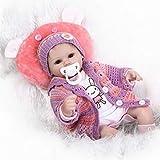 Yongse NPK 16 Pollici 42 Centimetri Rebornato Baby Bambola in Morbido Silicone Bambola Artigianale Baby Bambola Realistico Giocattoli Giocattoli Casa Giocattoli