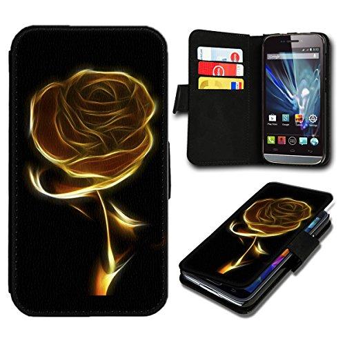 Book Style LG G3 Premium PU-Leder Tasche Flip Brieftasche Handy Hülle mit Kartenfächer für LG G3 - Design Flip SB618